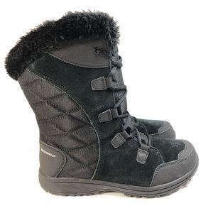 Columbia Womens Ice Maiden II Black Boot Size 8